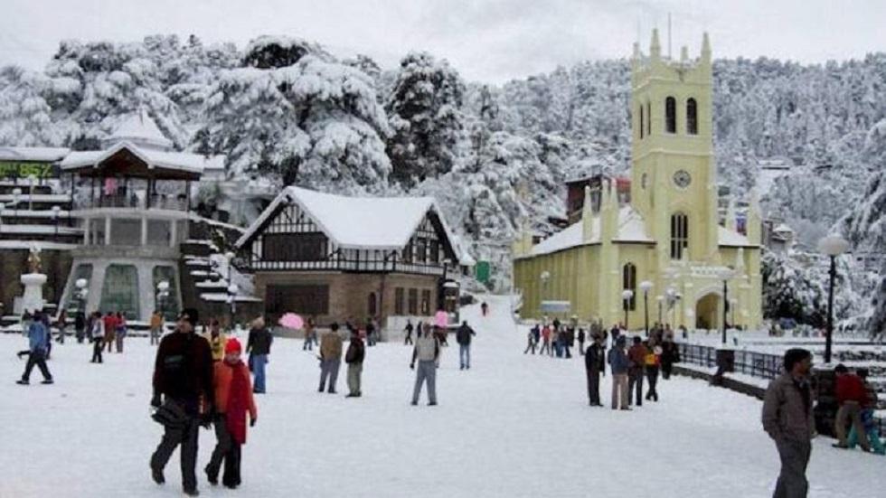 Shimla - 348 km from Delhi