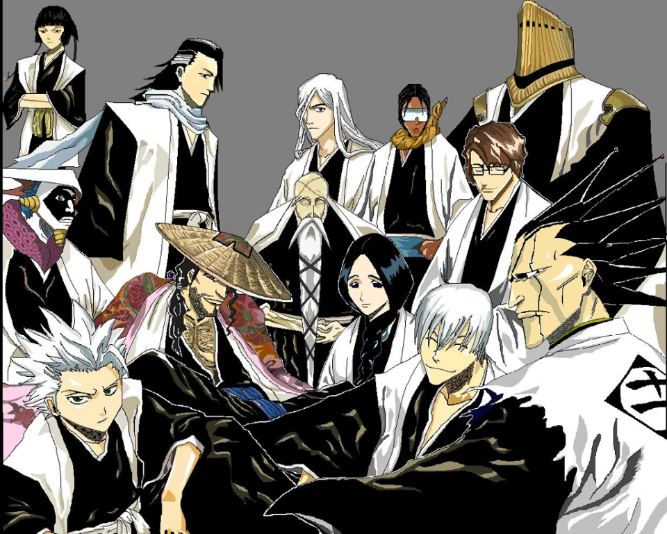 Bleach Captains